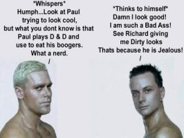 Funny Richard and Paul by rammstein-freak