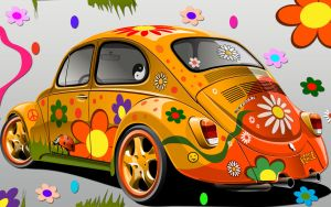 flowerpowercar by nucu