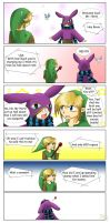 Mishaps of Link Roommate Ravio by Alamino