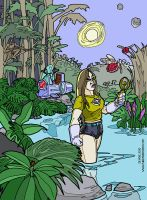 Star Girl 3000 on the Jungle Planet by DrMike2000