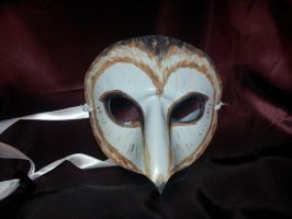Barn Owl Mask by Jedi-With-Wings