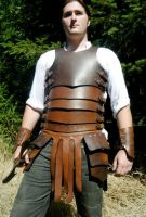 Banded Leather Armor by DALeathersAndGarb