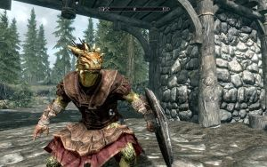 Skyrim-Argonian by Jd1680a