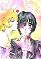 Kiss Alois X Ciel by Persefone999
