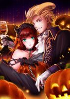 Halloween/Pumpkin night by nemling