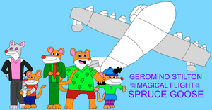 Geronimo Stilton and the MF of the Spruce Goose by jacobyel