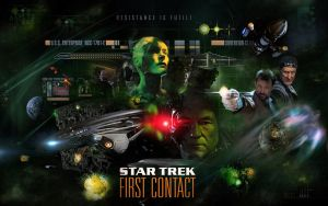 Star Trek - First Contact by 1darthvader