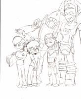 Family photo WIP by candlehat