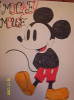 MICKEY MOUSE by xxxrazoremoxxx