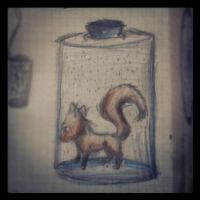 In the bottle. by Extrana
