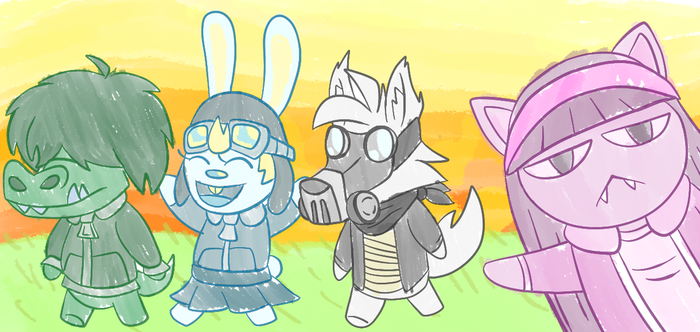 Animal Crossing Friends by ThePS2Gator