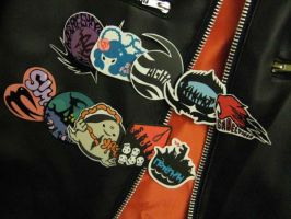 Air Gear Emblem Stickers by DokuDangoProductions