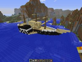 Minecraft screenshot steamboat1 by falcon01