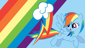 - Rainbow Dash Wallpaper - by Ponyphile