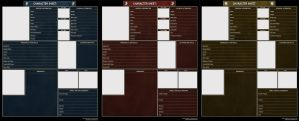 TESO Character Sheets by Isriana