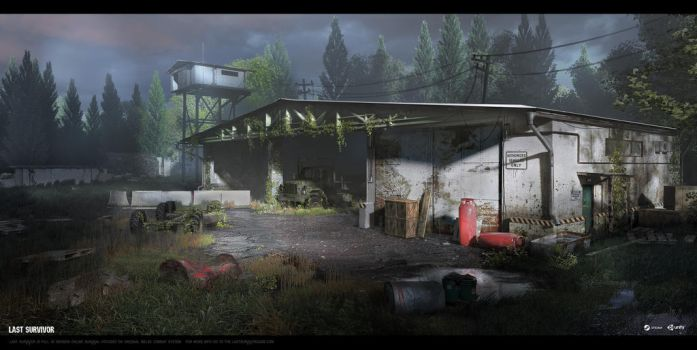 Last Survivor - Garage (Exterior) by UnccleUlty