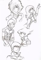 Some Cyborgs by CSalMar