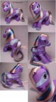 G3 Starswirl custom pony by Woosie