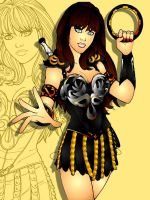 my collors for XENA by BoggieNightBoy