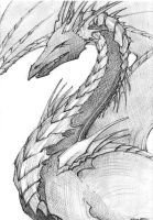 Black Dragon sketch by Kutty-Sark