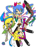 Extreme Vocaloid by ToxicNiko