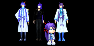 MMD - My best models Gakupo by AndreaPowerQ