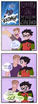 Robin what can you do (Teen Titans) by color-theorist