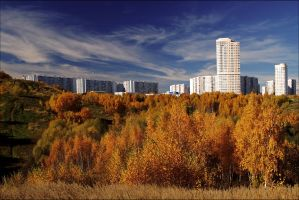 Moscow autumn. October. by Nickdan
