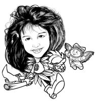 caricature my sister by sugimancung