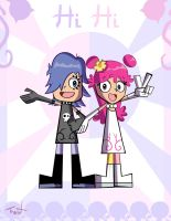 Hi Hi puffy Amy Yumi by TraiN8