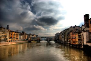 Ponte Vecchio HDR by tripcan
