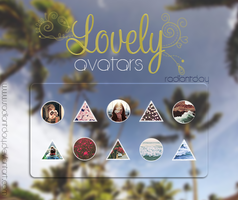 Lovely Avatars || Agus. by RadiantDay