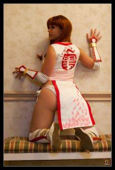 Kasumi blending in by HollyGloha