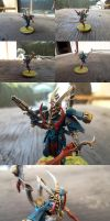 Dark Eldar Archon Conversion by Asurael-Returns