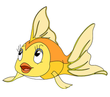 Cleo the Goldfish by WingedWarrior7