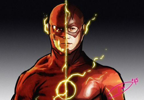 The Flash and The Flash by DomValecillo