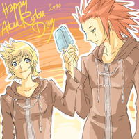 Happy AkuRoku Day by Luriel