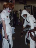 Anime Expo - Joker and Altair by BabemRoze