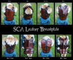 SCA Leather Heavy Combat Breastplate by Epic-Leather