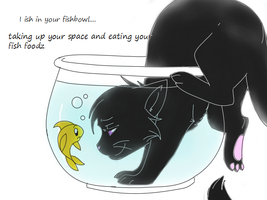 I ISH IN YOUR FISHBOWL 'Color' by DeriCreations