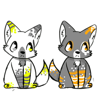 Foxie Adopts 1 CLOSED by FUNKIferret