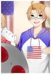 .:aph:. america's selfie by neruskie