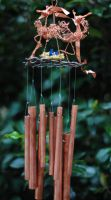 Wire Bird chimes by irishcompass