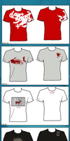 T-Shirts Designs 01 by Mgl-23
