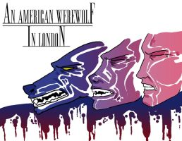 An American Werewolf... by BaronMask
