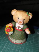 Christmas Teddy Bear Papercraft by bslirabsl