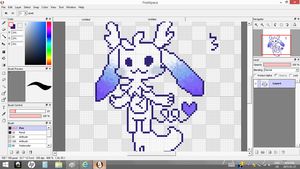 WIP pixel  page for Yamii by I-Draw-Stuff-A-Lot