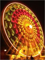 Ferris Wheel by BlueSem