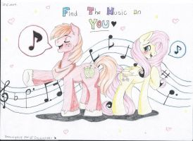 Got the music in you~ by Drawing-Heart