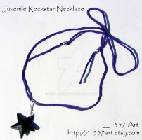 Juvenile Rockstar Necklace by 1337-Art